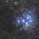 The Pleiades region,                                Toshiya Arai