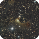 VDB 141, SH2-136, Ghost nebula,                                peleks
