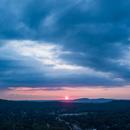 Sunset Panoramic from Backyard,                                John Travis