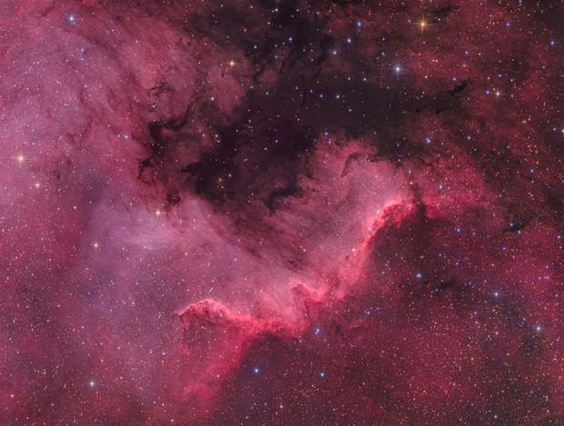 NGC 7000 - The Great Wall,                                Marcel Drechsler