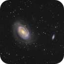 NGC 4725 - a one armed spiral galaxy,                                Bruce