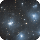 M45 - Les Pléiades,                                Ymevel