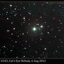 NGC 6543, Cat's Eye Nebula,                                David Dearden