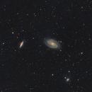 M81/M82 LRGB drizzled,                                PathIntegral