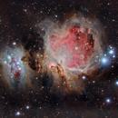 M42  Orion Nebula,                                Andrés González