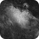 M16 - Eagle Nebula,                                Yizhou Zhang