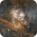 Diffuse Nebula Sh2-115 in Cygnus (Ha),                                Wes Chilton