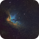 NGC 7380   Wizard Nebula,                                chuckp