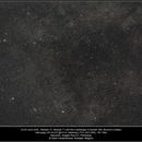 Milkyway, M27-M71-Brocchi's cluster, QHY168C, 20200624-25,                                Geert Vandenbulcke