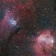 Gem Cluster NGC 3293 and NGC 3324,                                Martin Junius