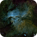 NGC6188 The Fighting Dragons of Ara (in narrow band Hubble Palette),                                Mark Forteath