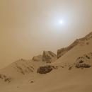 APOD - Snow on Mars?,                                MrPhoton