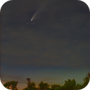 Comet C/2020 F3 Neowise from Maryland on July 18, 2020 @85mm,                                JDJ
