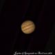 Jupiter et son satellite Io,                                christophe