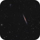 NGC 5907 Edge - On Spiral Galaxy in Draco,                                Elmiko
