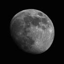 Moon - Waxing Crescent 90% [Red],                                jdifool