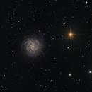 Little Pinwheel Galaxy ( NGC3184 ),                                Serge