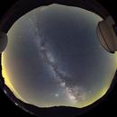 La Sagra Observatory (all-sky mosaic, fisheye projection),                                Máximo Bustamante