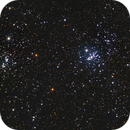 Clusters in Cassiopeia:  NGC869 and NGC884,                                jerryyyyy