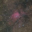 NGC 6820 over 3 years,                                petelaa