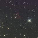 Stellar association and H II region in M31,                                Falk Schiel
