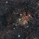 The Heart of the Heart Nebula (IC 1805),                                Josh Woodward