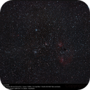 The Flaming Star widefield  M36 and M38 with SAM,                                Dominique Callant
