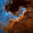 LBN 354 - Cygnus Wall in NGC 7000,                                Yannick Akar