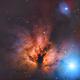 Flame Nebula,                                Mark Kuehner