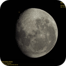 Moon and Mars occultation (emersion),                                Carlos Alberto Pa...