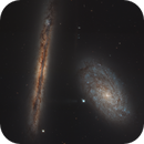 NGC4302 and NGC4298 Courtesy of the Hubble Space Telescope,                                Dean Jacobsen