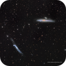 The Whale (NGC 4631) and Broomstick (NGC 4656) Galaxies,                                Eric Coles (coles44)
