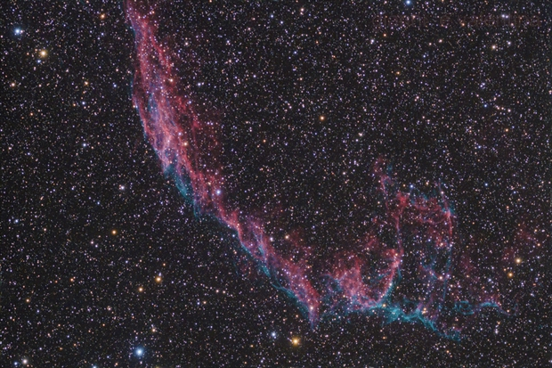 NGC6992 - the eastern veil nebula,                                Gianni Cerrato