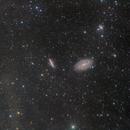 M81/M82 with integrated flux nebula,                                Scott Findlay