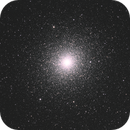 NGC104 Globular Cluster 47Tucanae and it's distant cousin NGC121,                                TWFowler