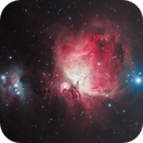 The Orion Nebula (M42) and Running Man (Sh2-279 ),                                Chuck's Astrophotography