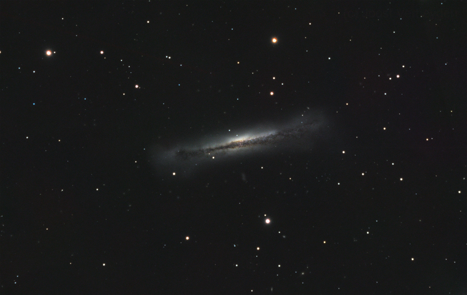 NGC3628 Hamburger Galaxy with a 120mm Esprit,                                Joostie