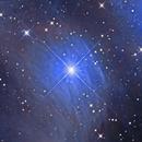 Merope nebula,                                Mark