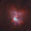 Sh2-206 • NGC 1491 • Fossil Footprint Nebula in HOO,                                Douglas J Struble