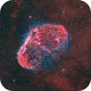 The Crescent Nebula NGC 6888,                                Barry Wilson