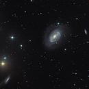 galassia Ngc 4725,                                Rolando Ligustri