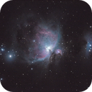 Orion & Running Man with ES ED102-FCD100,                                KiwiAstro