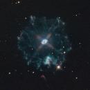 Cat's Eye Planetary Nebula - NGC6543 - Caldwell 6,                                Jérémie