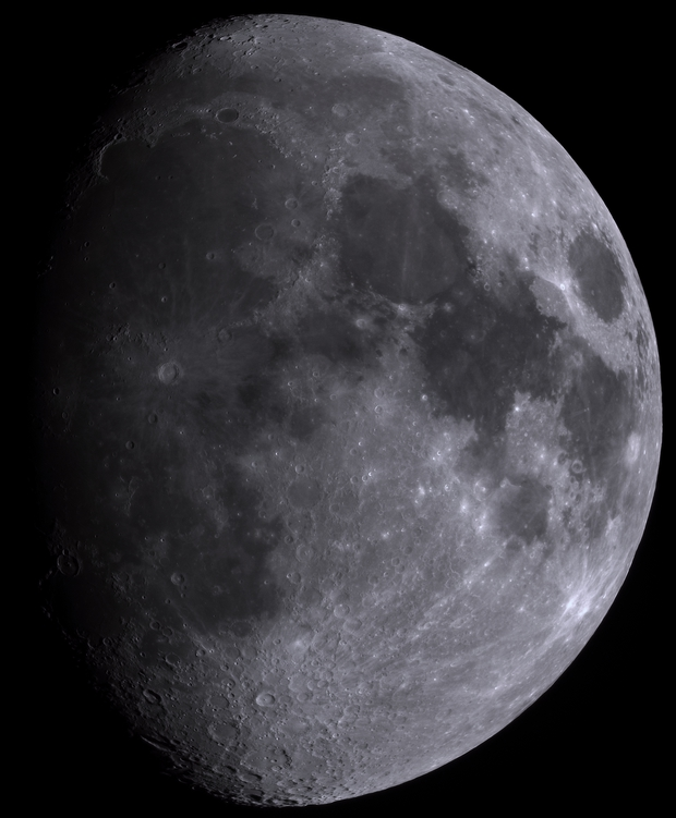Moon 100mm ED Evostar,                                Spacecadet