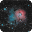 Post Processing Project: M20 – Trifid Nebula,                                Van H. McComas