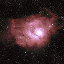 M8 Lagoon nebula,                                Tomas Chylek
