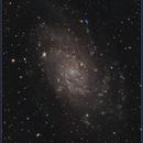 M33 - Narrowband,                                starhopper62