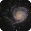 M101 - Ha-LRGB,                                Almos Balasi