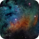 Sharpless 171 in the Hubble Palette,                                Kevin Dixon