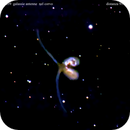 ngc4038 ngc4039 galassie antenna nel corvo                                    distanza 91 milioni  A.L.,                                Carlo Colombo